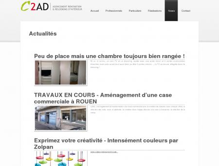 Agencement intérieur 27, C2AD dans l'Eure,...