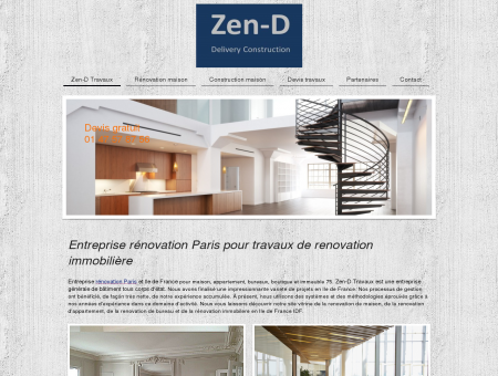 Entreprise rénovation Paris pour travaux de...