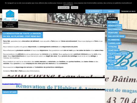 Rénovation Batiment 75 - Reno Bat à Paris...
