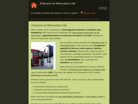 Extension et Rénovation