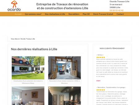 Agence Ocordo Travaux Lille - Rénovation et...