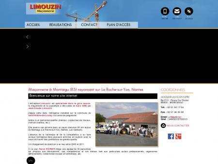 Maçonnerie La Roche sur Yon - LIMOUZIN...