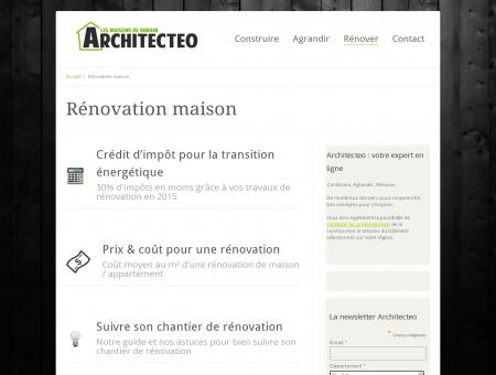 Rénovation maison - Architecteo : construction,...