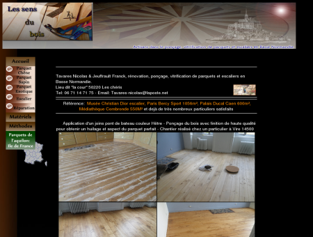 Photo de rénovation de parquet