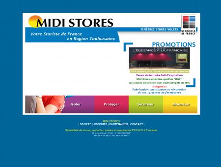 Midi Stores - Votre Storiste de France en...