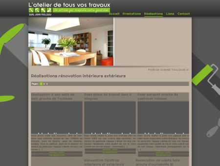 Pose de cuisine Toulouse, rénovation salle de...