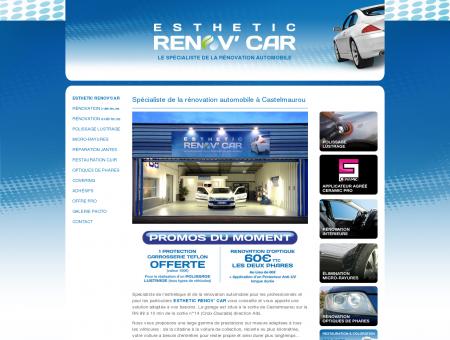 Rénovation et lavage automobile - ESTHETIC...
