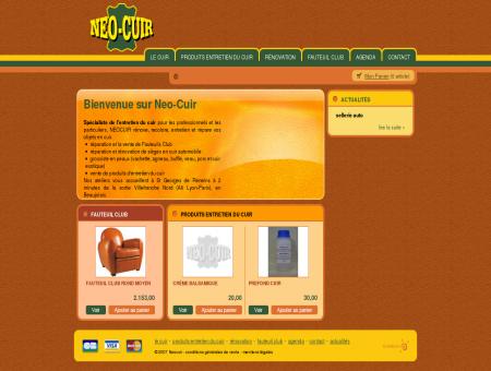NEOCUIR - Entretien du cuir, rénovation,...