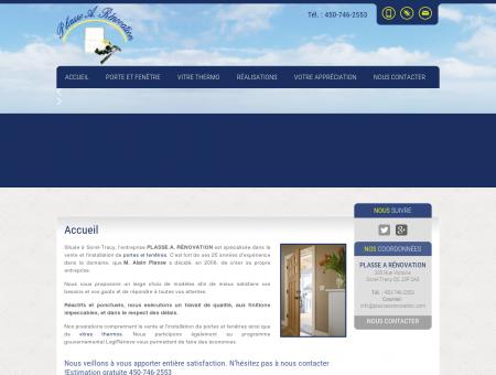 Porte et Fenêtre Sorel-Tracy, Porte d'entrée...