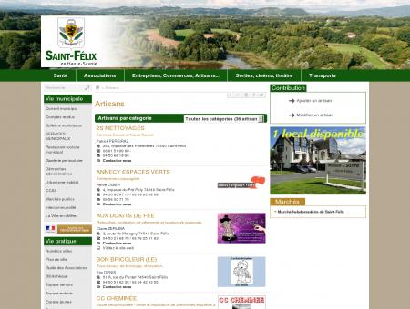Artisans - Saint-Félix - Site officiel de la...