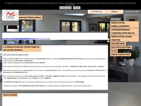AVS Agrandissement Rénovation à Sucy-en...
