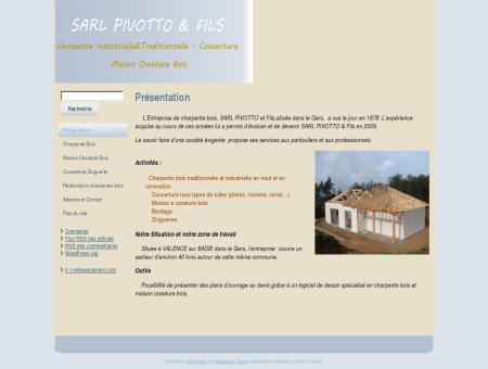 Charpente bois Gers(32), Valence su baïse - Sarl...