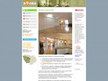 Rénovation d'appartements et de maison à...