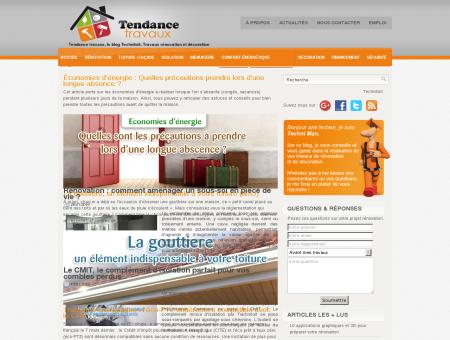Tendance travaux, le blog Technitoit | Tendance...