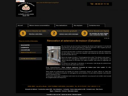 Extension maison Caen 14 - Rénovation...