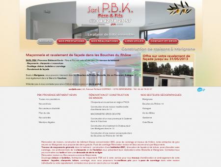 Constructeur de maison Marignane - SARL PBK