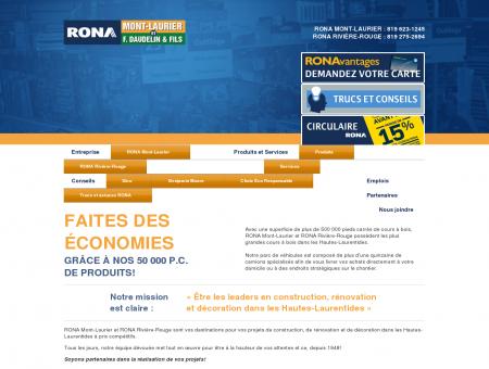Rona Mont-Laurier et Rivière-Rouge