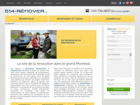514-Renover, rénovation résidentielle et...