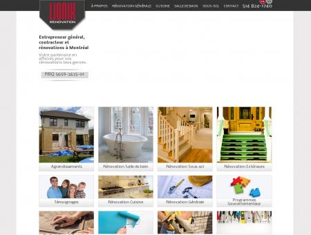 Lionix Rénovation à Montréal   Entrepreneur...