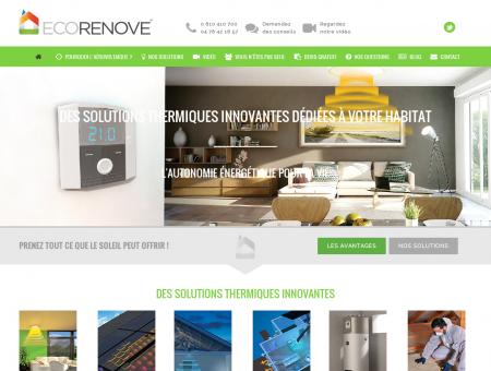 Ecorenove l'énergie innovante par la rénovation