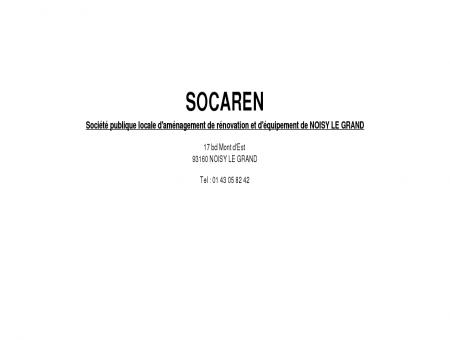 SOCAREN - Société publique locale...