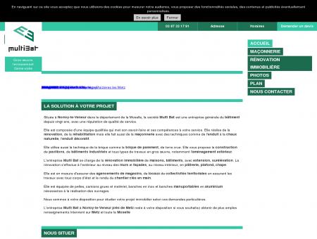 Accueil - La société Multi Bat vous accueille à...