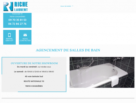 Installation salle de bain 78 - RICHE LAURENT :...
