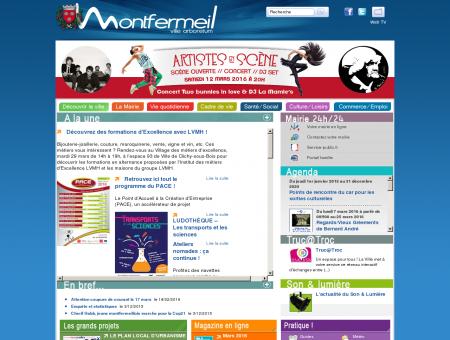 Site officiel de la Ville de Montfermeil (Seine...