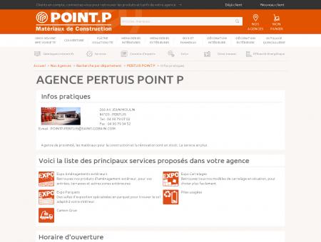 pertuis point p - Distributeur de matériaux de ...