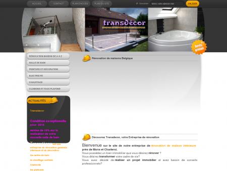 Entreprise de rénovation Hainaut : Mons -...