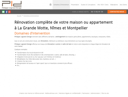 Rénovation maison La Grande Motte...