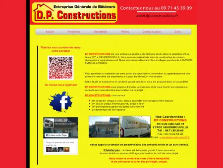 Constructions 27 DP CONSTRUCTIONS...