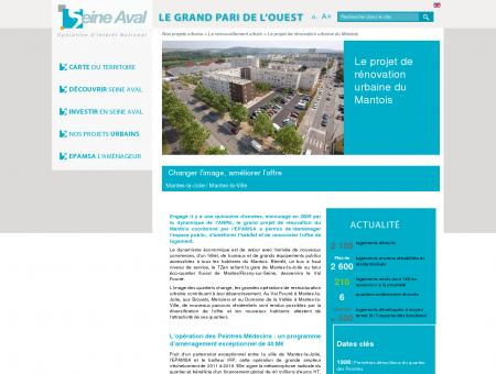 Le projet de rénovation urbaine du Mantois