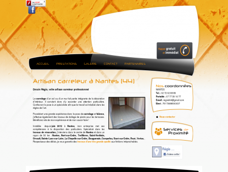 Carreleur Nantes - Drouin Régis : pose faïence,...
