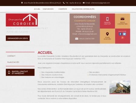 Menuisier, rénovation toiture - Beuzeville |...