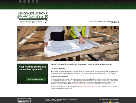 Les Constructions Gérald Santerre inc. | Baie...