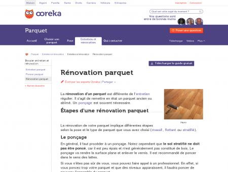 Renovation parquet : tout savoir sur la...