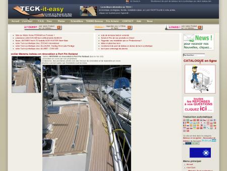 réparation rénovation bateaux voilier MARAMU...