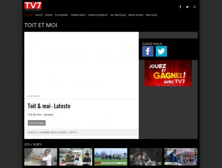 Toit et moi | Tv7, la télévision de Bordeaux ...