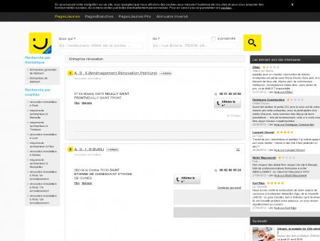 Entreprise renovation - PagesJaunes : Trouvez...