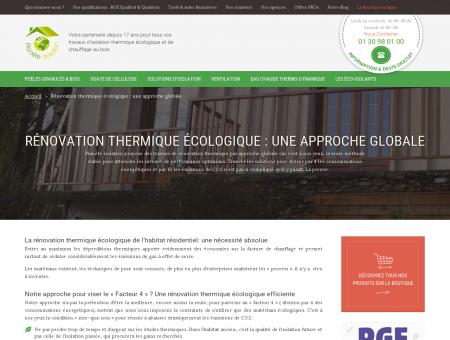 Rénovation thermique écologique par Planète...