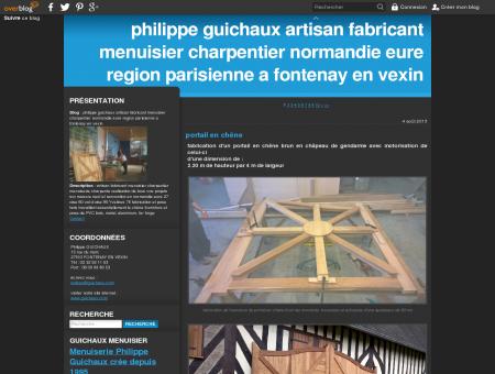 philippe guichaux artisan fabricant menuisier...