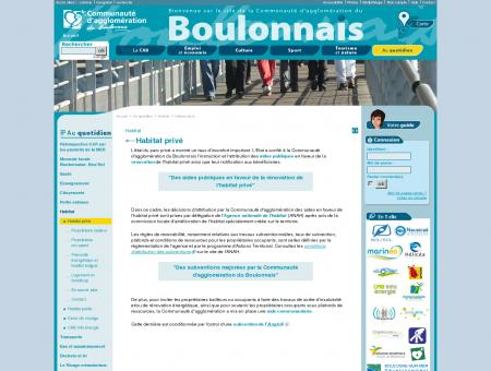 Habitat privé à Boulogne-sur-mer et dans le...