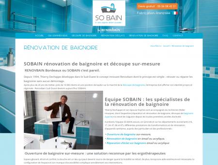 Rénovation de baignoire et de sanitaires par...