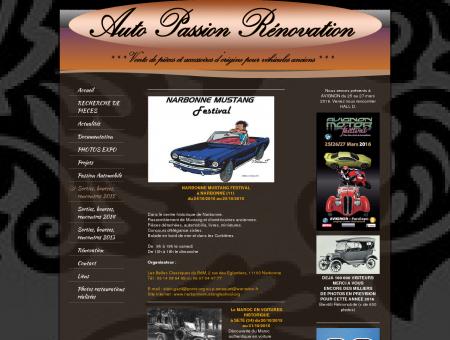 Auto Passion Rénovation - Sorties, bourses,...