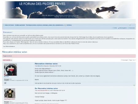 Le forum des pilotes privés  Afficher le sujet ...