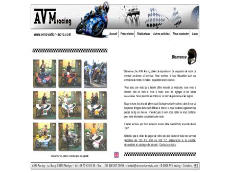 AVM racing, Préparation et rénovation de moto