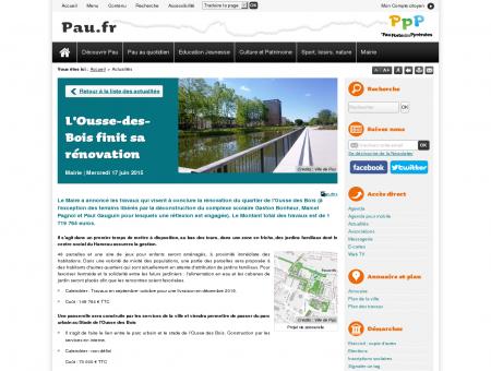 L'Ousse-des-Bois finit sa rénovation - Site...
