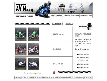 rénovation BMW, Harley et Honda NSR 400 -...