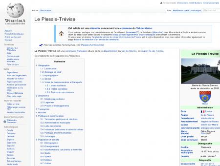 Le Plessis-Trévise  Wikipédia